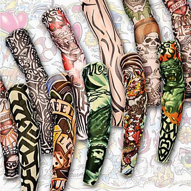 699 1 Pcs Tatuaże Tymczasowe Wodoodporny Nietoksyczne Poliwęglan Tatuaże Na Rękawach