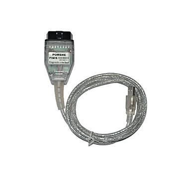 Новая версия USB и OBDII диагностический инструмент для Порше Piwis кабель с несколькими функциями