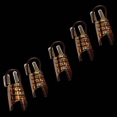 10 Stück Nagel-Kunst-Werkzeug Nagel Kunst Maniküre Pediküre Klassisch Alltag