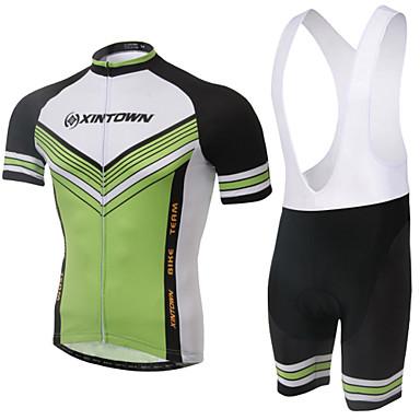 Αθλητική φανέλα και σορτς ποδηλασίας Γυναικεία Κοντομάνικο Ποδήλατο Σορτσάκι με τιράντες Αθλητική μπλούζα Κοντά ΠαντελονάκιαΦοριέται