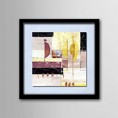 Maalattu Abstrakti Klassinen Kangas Hang-Painted öljymaalaus Kodinsisustus 1 paneeli