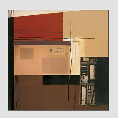 Peint à la main AbstraitModern / Style européen Un Panneau Toile Peinture à l'huile Hang-peint For Décoration d'intérieur
