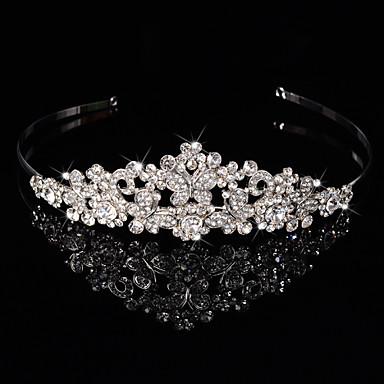 steril gümüş alaşımlı baş bandı çiçek çelenk başlığı zarif stili