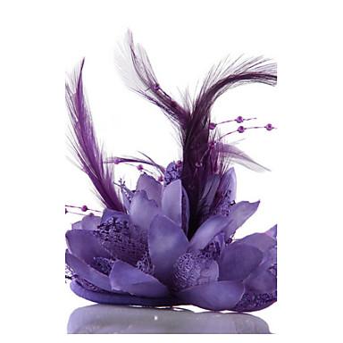 Chiffon Krystall Künstliche Perle Spitze Stoff Tiaras Fascinatoren Blumen Hüte Kränze 1 Hochzeit Besondere Anlässe Party / Abend Normal