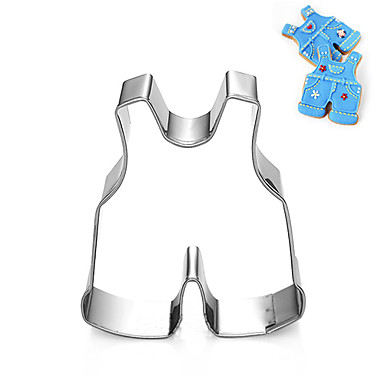 Cute Children Baby Trousers Shape Cookie Cutters Set Fruit Cut Molds Stainless Steel