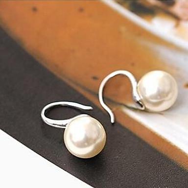 Boucle Boucles d'oreille gitane Bijoux 2pcs Alliage / Imitation de perle Femme Argent