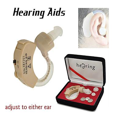 nouvelles aides d'aides auditives sans fil derrière l'oreille acousticon ton de la voix réglable amplificateur sonore
