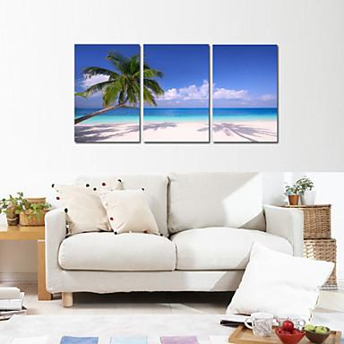 Landskap Romantik fritid Fotografisk Tre Paneler Lodrett Trykk