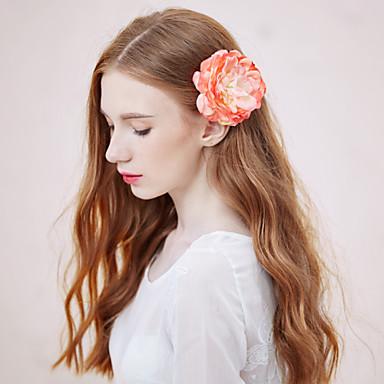 Γυναικείο Κράμα / Ύφασμα Headpiece-Γάμος / Καθημερινά / Υπαίθριο Λουλούδια 1 Τεμάχιο