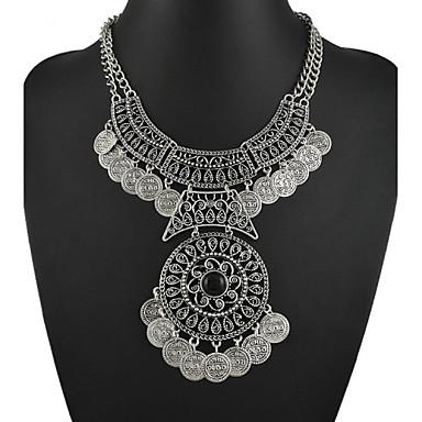 Damen Statement Ketten / Y Halskette - Blume Farbbildschirm Modische Halsketten Schmuck Für Party / Abend
