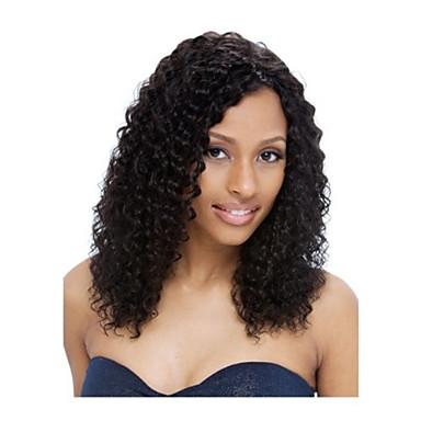 Ζεστό πώλησης των μη επεξεργασμένων ειδών 10-30inch μπροστινή περούκα kinky σγουρά δαντέλα& περούκα u μέρος 100% βραζιλιάνα ανθρώπινα