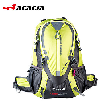 Acacia Bike Bag 40L Cycling Backpack Rain-Proof Dust Proof Wearable Shockproof Reflective Strips Multifunctional Bicycle Bag 420D Nylon