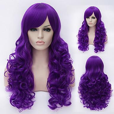 europejskie i amerykańskie wysokiej jakości wysokotemperaturowy długość przewodu dziewczyna kręcone włosy peruki mody konieczne