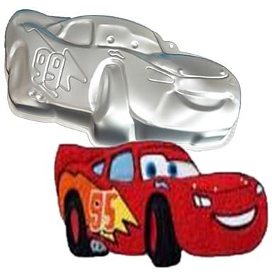 fire-c sportsbil form aluminium kakebaking pan mold, baking forsyninger for kaker, bakeformen bakeware metall