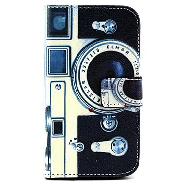 Para Samsung Galaxy Capinhas Carteira / Porta-Cartão / Com Suporte / Flip Capinha Corpo Inteiro Capinha Desenho Couro PU SamsungGrand