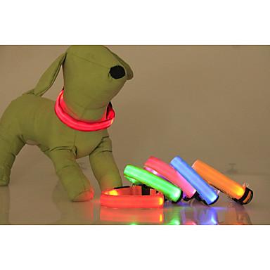Kutya Gallérok LED fények Állítható / Behúzható Egyszínű Műanyag Sárga Piros Zöld Kék Rózsaszín
