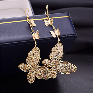 Women's Ear Cuffs Fashion Multi Layer Alloy Butterfly Animal Jewelry Party Daily