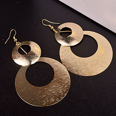Women's Drop Earrings - Silver / Golden For Wedding / Party / Daily