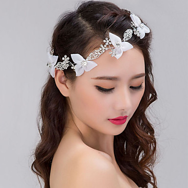 Hair Headpiece With Imitation Pearl/Rhinestone Wedding/Party Headpiece