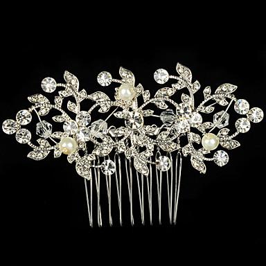 Alloy Hair Combs Headpiece Wedding Party Elegant Feminine Style