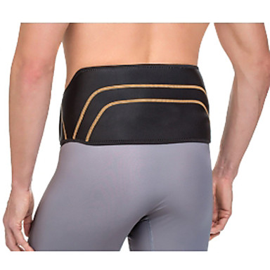 L Size Copper Fit Back Pro Support Lower Back Spine Pain Relief Belt Lumbar