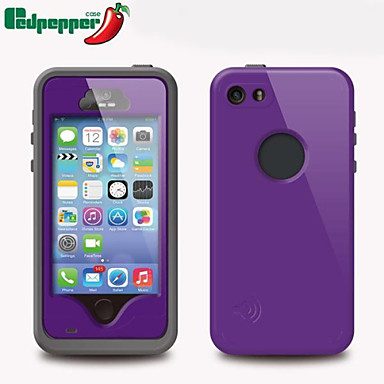 Case For iPhone 5 Apple iPhone 5 Case Water Resistant Dustproof Shockproof Full Body Cases Armor Hard PC for iPhone SE/5s