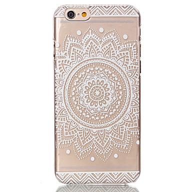 Carcasă Pro Apple iPhone 6 Plus / iPhone 6 Průhledné / Vzor Zadní kryt Květiny Pevné PC pro iPhone 6s Plus / iPhone 6s / iPhone 6 Plus