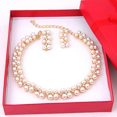 Damen Schmuck-Set Einschließen Ohrringe Halsketten - Aleación Für Hochzeit Party Besondere Anlässe Jahrestag Geburtstag Verlobung