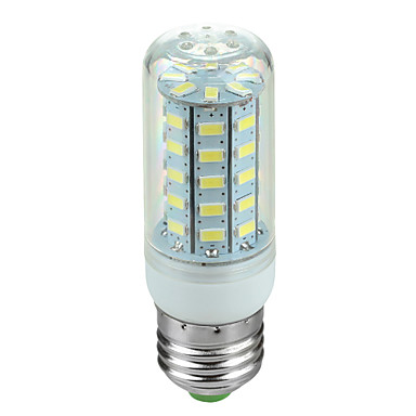 E26/E27 LED-maissilamput Pyörivä 48 SMD 5730 600 lm Kylmä valkoinen AC 220-240 V 1 kpl