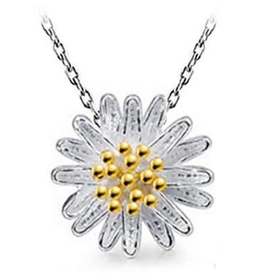Жен. форма Ожерелья с подвесками Стерлинговое серебро Ожерелья с подвесками