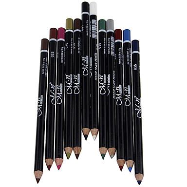 Kredki do oczu Spódnica ołówkowa Mokry Większa objętość / Długotrwały / Natutalne / Szybkoschnący / Oddychający