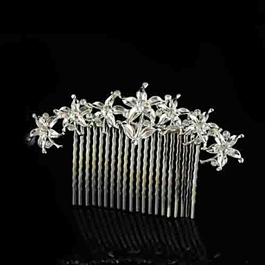 Γυναικείο Στρας Κράμα Headpiece-Γάμος Χτενιές Μαλλιών 1 Τεμάχιο