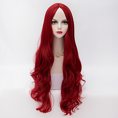 Synthetic Wig Classic / Loose Wave Synthetic Hair Wig Women's Capless