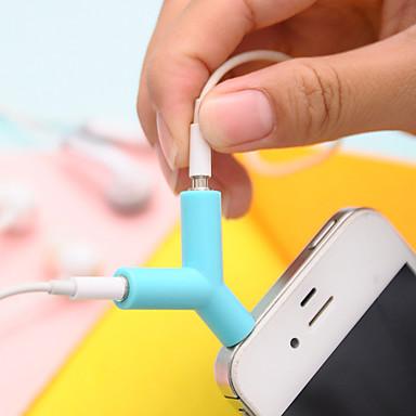 3,5 mm hodetelefoner deling type plug (tilfeldig farge) diy for iphone samsung galaxy s8 s7 sony huawei