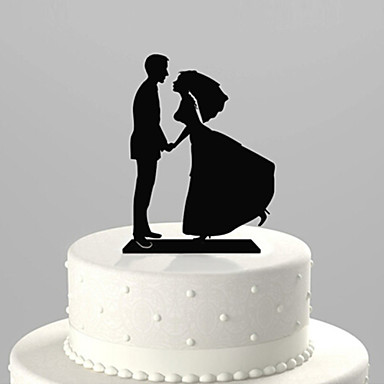 Love You Forever Wedding Cake Topper