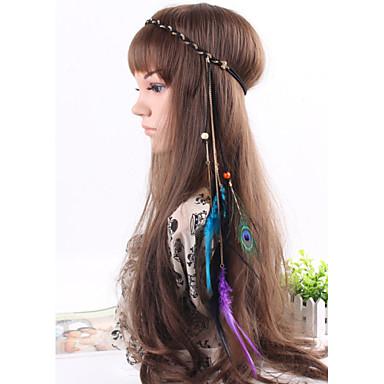 Women's Elegant Feather Headband