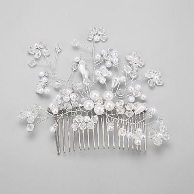 Krystall Künstliche Perle Aleación Haarkämme 1 Hochzeit Besondere Anlässe Kopfschmuck