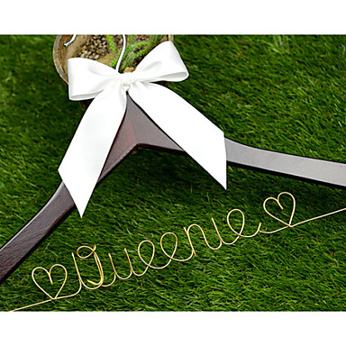 Bride Groom Bridesmaid Groomsman Flower Girl Couple Parents Wood Aluminum Alloy Creative Gift Wedding Congratulations Thank You