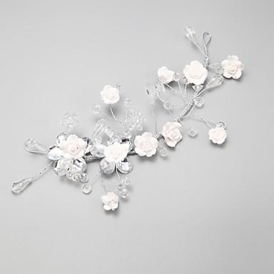 кристалл сплава цветы головной убор свадебный вечер элегантный женственный стиль