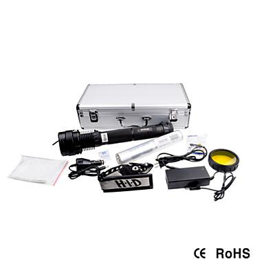 Освещение HID фонари / Наборы фонариков HID и криптон 7500 Люмен 5 Режим - литиевая батарейка Перезаряжаемый / Очень легкие / Высокомощный