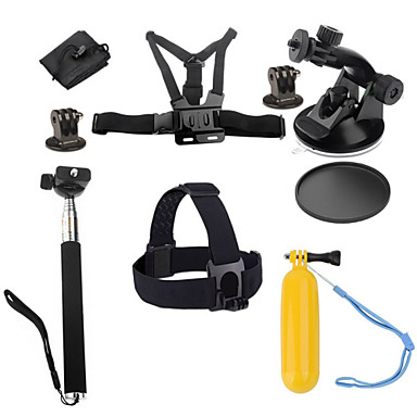 Case/Bags Screw Floating Buoy Suction Cup Straps Hand Grips/Finger Grooves Monopod Tripod Mount / Holder 147-Action Camera,All Gopro