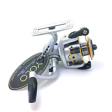 Fiskesneller Spinne-hjul 4.8:1 Gear Forhold+3 Kulelager Hånd Orientering Byttbar Agn Kasting Isfikeri Spinne Ferskvannsfiskere Annen