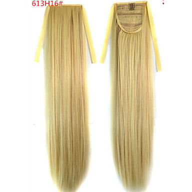 The New Color  Bundled Horsetail 613H16# Hair Ponytail