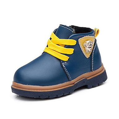 Baby Shoes Casual Leather Boots / Fashion Sneakers Blue / Brown / Yellow