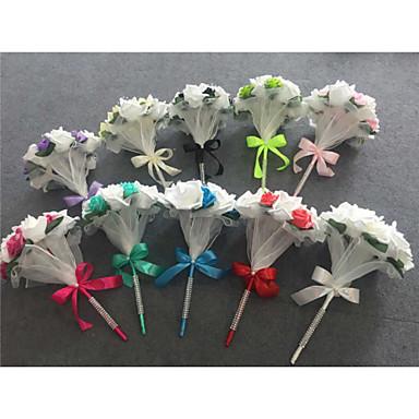 Fleurs de mariage Bouquets Mariage Polyester Satin 33cm