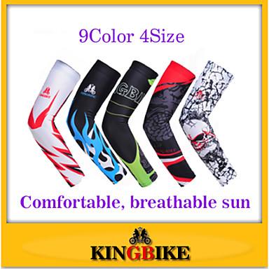 Manchettes Cyclisme Respirable Pare-vent Résistant aux ultraviolets Antimite Vestimentaire Haute respirable (>15,001g) Ecran SolaireFemme