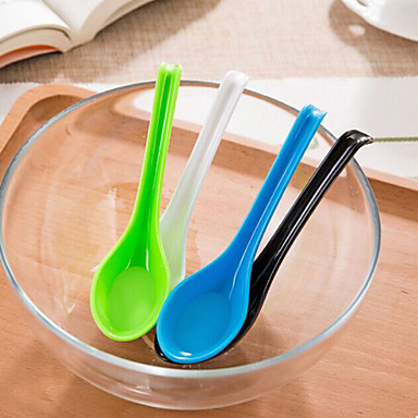 Multifunction Candy Colors Anti-shedding Spoons (Random Color)