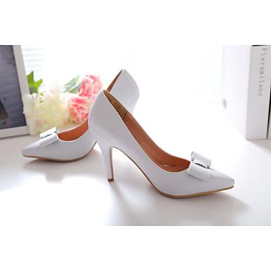 Vert 04295773 Femme Mariage Chaussures Talon Noeud Eté Habillé Aiguille Noir Cuir Printemps Chair 7p7HT