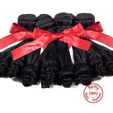 Az emberi haj sző Perui haj 12 hónap 3 darab haj sző