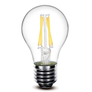 1szt 400 lm E26/E27 Żarówka dekoracyjna LED G60 4 Diody lED COB Przysłonięcia Ciepła biel AC 110-130V AC 220-240V